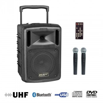 BE 9610 UHF ABS POWER ENCEINTE PORTABLE