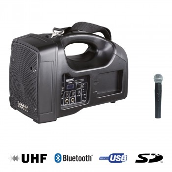 BE 1400 UHF POWER ENCEINTE PORTABLE