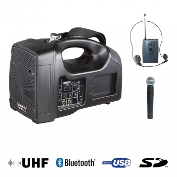 BE 1400 PT UHF POWER ENCEINTE PORTABLE