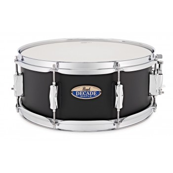 "DECADE MAPLE PEARL 14x5.5"" SATIN BLACK PEARL"