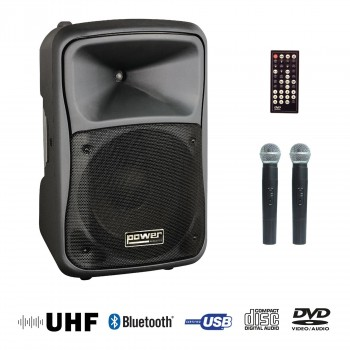 BE 9412 UHF ABS POWER ENCEINTE PORTABLE