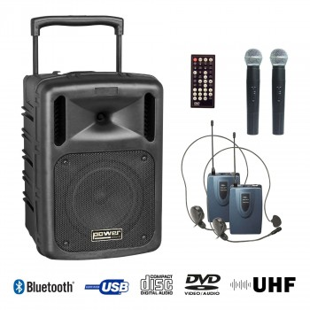 BE 9610 UHF PT ABS  POWER ENCEINTE PORTABLE