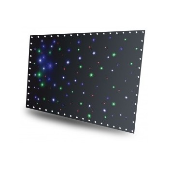 SparkleWall Rideau à LEDs, 96 x RGBW 3x 2 m avec contrôleur