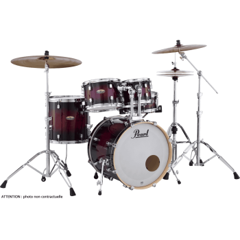 "DECADE MAPLE JAZZ 18"" GLOSS DEEP RED PEARL"