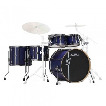 SUPERSTAR HYPER-DRIVE DUO 4 FÛTS SATIN BLUE TAMA