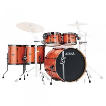 SUPERSTAR HD MAPLE 5PC BRUSHED CHARCOAL BLACK TAMA