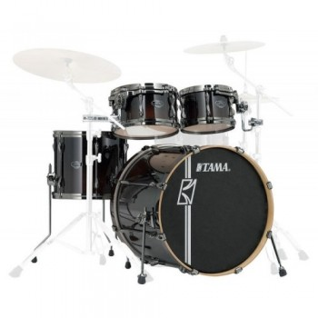 SUPERSTAR HD MAPLE 4PC CLASSIC CHERRY WINE TAMA