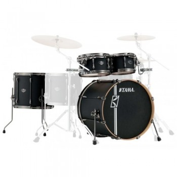 SUPERSTAR HD MAPLE 4PC DARK MOCHA FADE TAMA