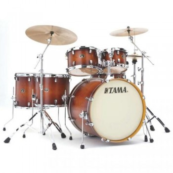 SILVERSTAR CUSTOM 6PC ANTIQUE BROWN BURST TAMA