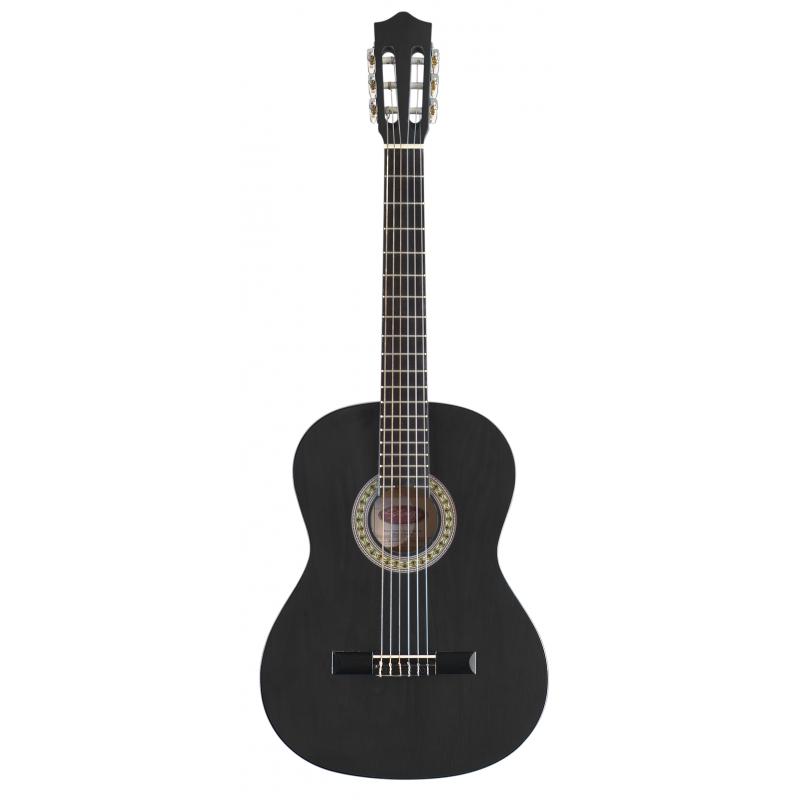 achat guitare classique nylon pas cher stagg c542 bk noir limoges. Black Bedroom Furniture Sets. Home Design Ideas
