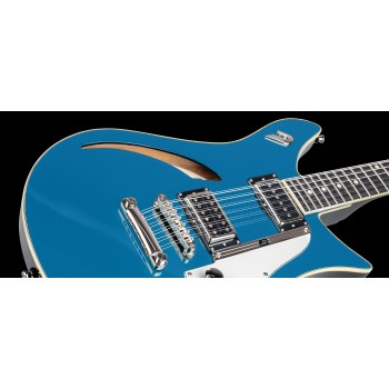 DOUBLE CAT TREMOLO CATALINA BLUE + CASE DUESENBERG
