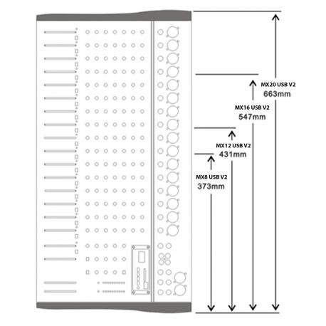 MX16 USB V2  POWER ACOUSTICS