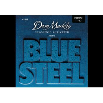 JEU DE CORDES DE GUITARE ELECTRIQUE BLUE STEEL 11-52
