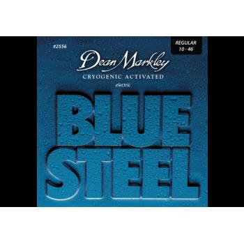 JEU DE CORDES DE GUITARE ELECTRIQUE BLUE STEEL 10-46