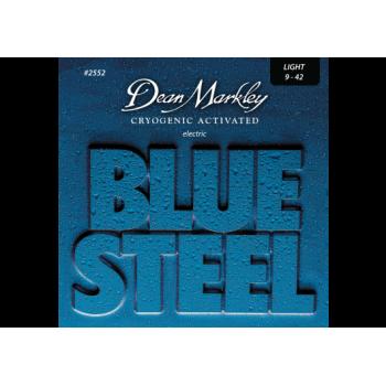 JEU DE CORDES DE GUITARE ELECTRIQUE BLUE STEEL 09-42