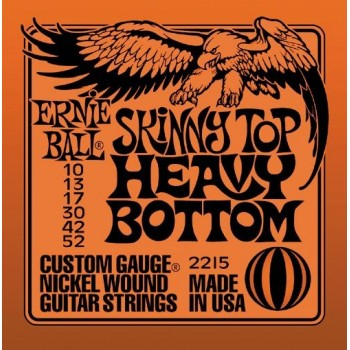 JEU DE CORDES ERNIE BALL HEAVY BOTTOM 10-52