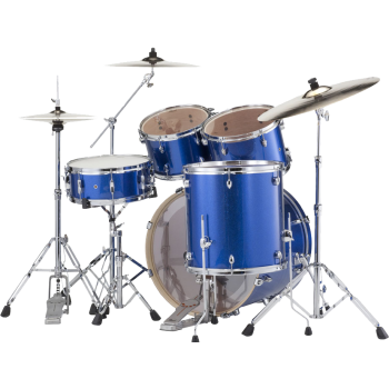 "EXPORT FUSION 20"" ELECTRIC BLUE SPARKLE PEARL"