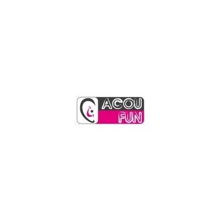 CASQUE ANTI-BRUIT ACOUFUN HP KID BLEU