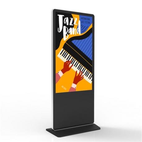 "Totem vidéo d´affichage dynamique 55"" 4K, Indoor"