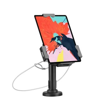 Support universel pour tablette 7.9´´-10.5´´, Installation sur table ou au mur, fonction antivol