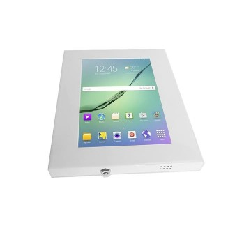 "Support antivol tablette Samsung Galaxy Tab 10.1"" 1,2,3,4, Blanc"