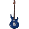 STEVE LUKATHER FLAME MAPLE BLUEBERRY BURST STERLING BY MUSIC MAN
