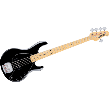 STINGRAY4 BLACK LEFT STERLING BY MUSIC MAN