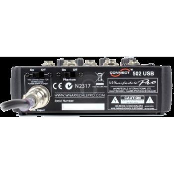CONNECT502-USB-BK WHARFEDALE