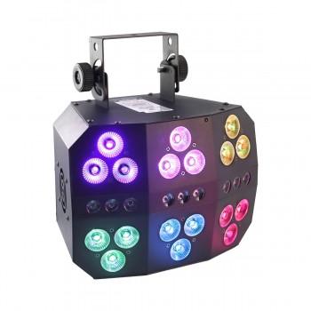 6 PACK LED PAR BOOMTONE DJ